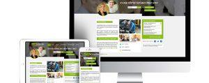 Webseite der Jobköpfe in responsivem Design