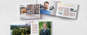 """Broschüre für die Kampagne """"otto ist kreativ"""""""