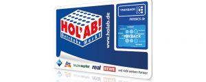 PAYBACK-Karte für HOL'AB!