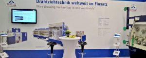Impressionen des Gemeinschaftsstandes auf der wire 2018 in Düsseldorf