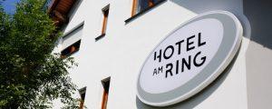 Hotel am Ring Leuchtkasten