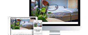 Hotel am Ring Webseite in responsivem Design