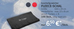 Angebot Fleece-Schal