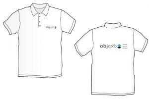 Objexo-Poloshirts mit Branding
